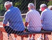 Senioren auf der Bank