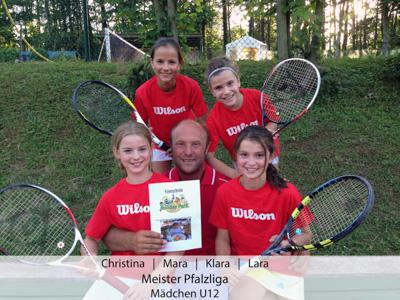 Christina, Mara, Klara, Lara - Meister Pfalzliga - Mädchen U12