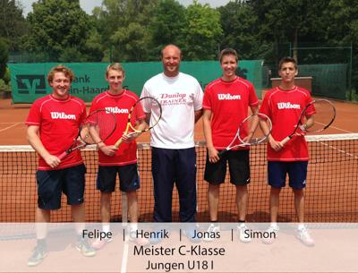 Felipe, Henrik, Jonas, Simon - Meister C-Klasse - Jungen U18 I