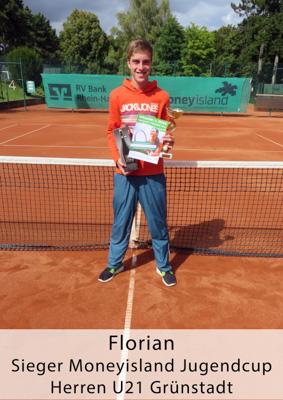 Florian - Sieger Moneyisland Jugendcup - Herren U21 Grünstadt