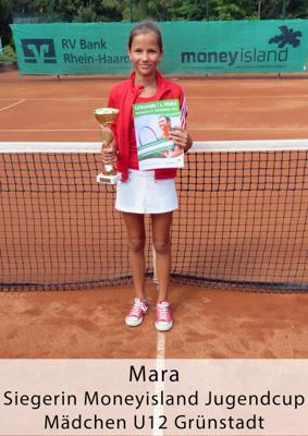 Mara - Siegerin Moneyisland Jugendcup - Mädchen U12 - Grünstadt