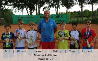 Paul, Ricardo, Leandro, Philipp, Tom, Riccardo - Meister C-Klasse - Minis U12II